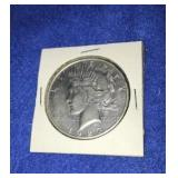 1927 Peace Dollar. Uncirculated S. Mint Silver