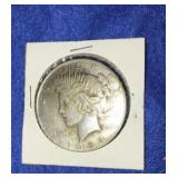 1934 Peace Dollar. Uncirculated P. Mint Silver