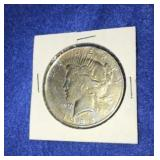 1928 Peace Dollar. Uncirculated S. Mint Silver
