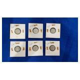 90% Silver Roosevelt Dime Sets.p&d Mint Mark Sets.