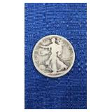Walking Liberty Half Dollar 1917-p Mint