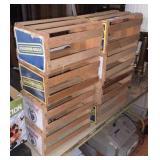 Wood Cd Crates