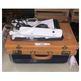 Briefcase And Printer
