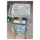 Fax Machine And Cart