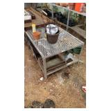 Metal Greenhouse Tables