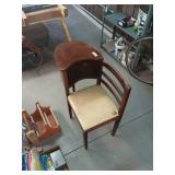 Antique Table Chair Combo