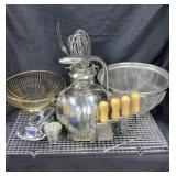 Stainless Kitchen Items