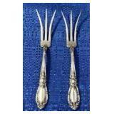 Sterling Pickle Forks