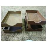 Wood Paper Trays
