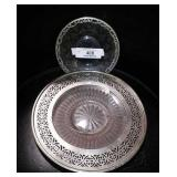Silver Plate Glass
