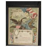 World War 1 Memorbilia