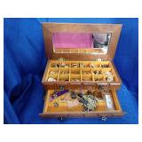 Jewelry Box And Earrings
