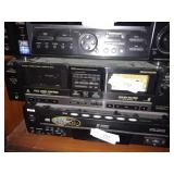 Jvc Stereo Double Cassette Deck Player