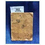 Antique Medical Booklet