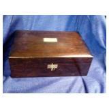 Wood Keepsake Box