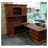 Sectional Desk Cabinet Set