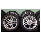 Wheel Set With Tires