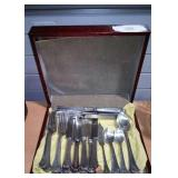 Silver Plate Dining Utensils