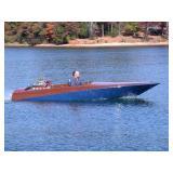 Custom Speed Boat Thunderbolt