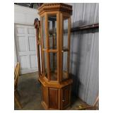 Octagon china cabinet