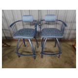 pair of vintage bar stools