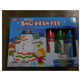 new in box snowman kit