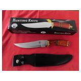 hunting knife w/sheath
