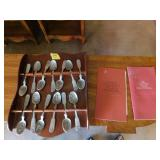 The American Colonies pewter spoons collection