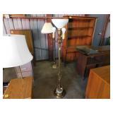 bronze ornate floor lamp