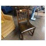 chair w/seat cushion