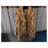 custom designed fur coat