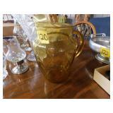 retro pitcher