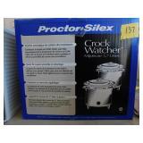 Proctor Silex Crock Watcher slow cooker