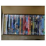 box lot of dvds & movies