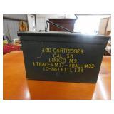 metal military ammo box