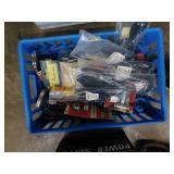 misc hardware & electronics box lot