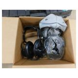 set of (3) headphones