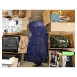 military duffel bag & parachute harnesses
