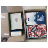 (2) boxes of misc books