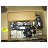 box lot of electronics