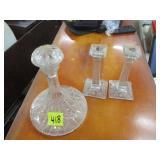 3 pc glassware