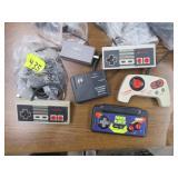 Nintendo Remote Controls (4) and connectors