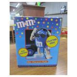M&M  blue character radio in original box
