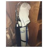 Golf Clubs & Merit Bag
