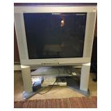 Sony wega Tube Tv with built in stand
