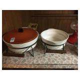 Casserole Dishes with stand