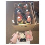 Hummel dolls and bisque and ceramic dolls