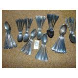 Monogramed Sterling Spoons