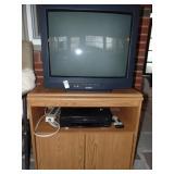 Sylvania TV VCR cabinet
