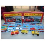 Matchbox Superfast collectors mini case and cars
